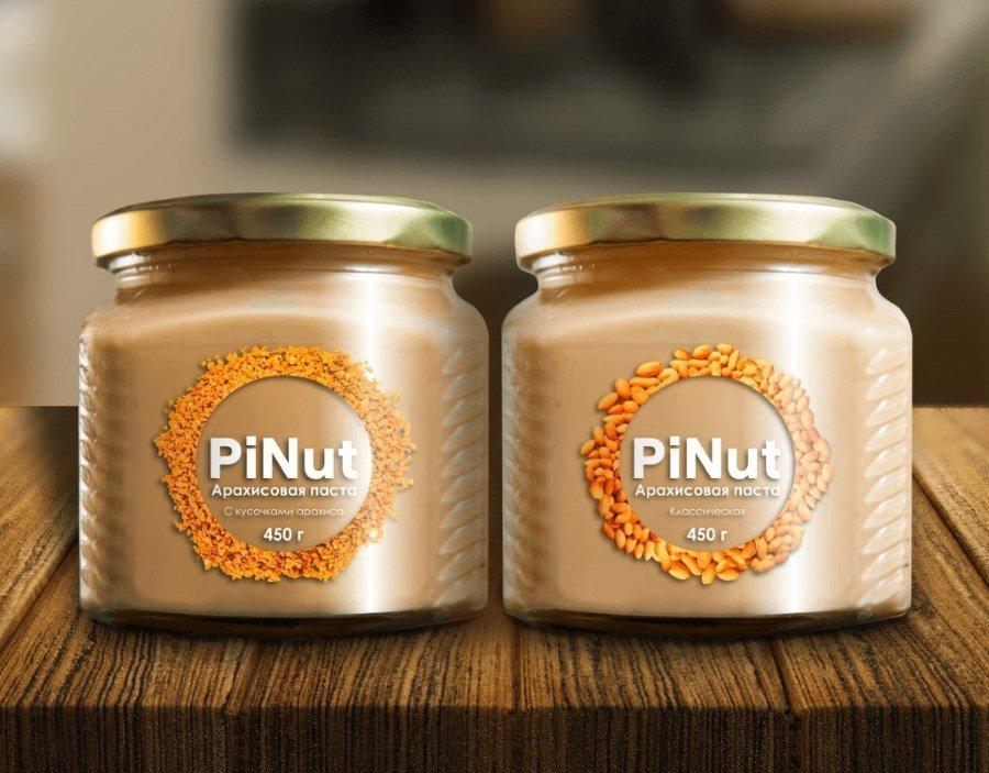 логотип арахисовой пасты