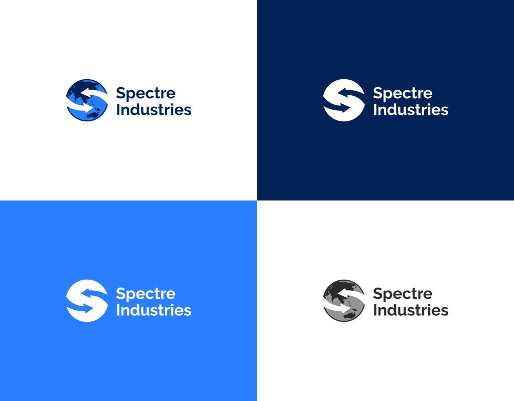 фирменные цвета логотипа spectre industries