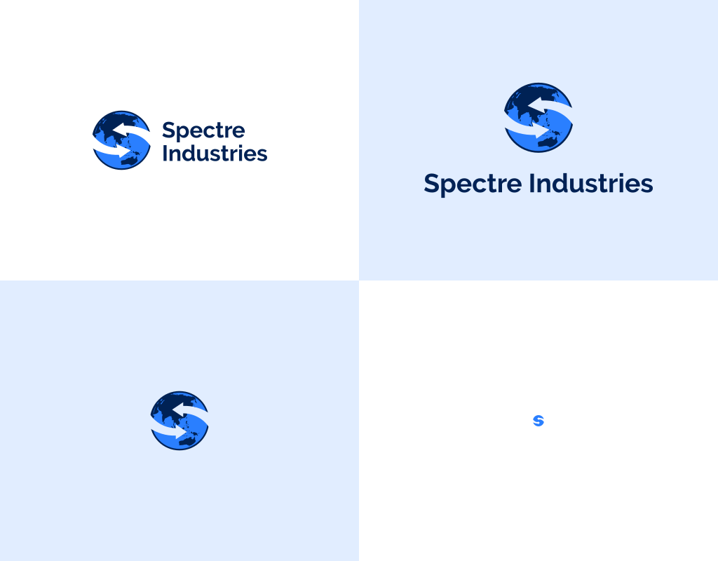 Формы логотипа spectre industries
