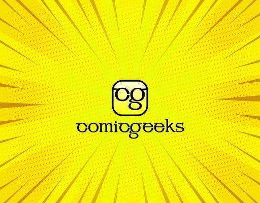 логотип для магазина комикс атрибутики