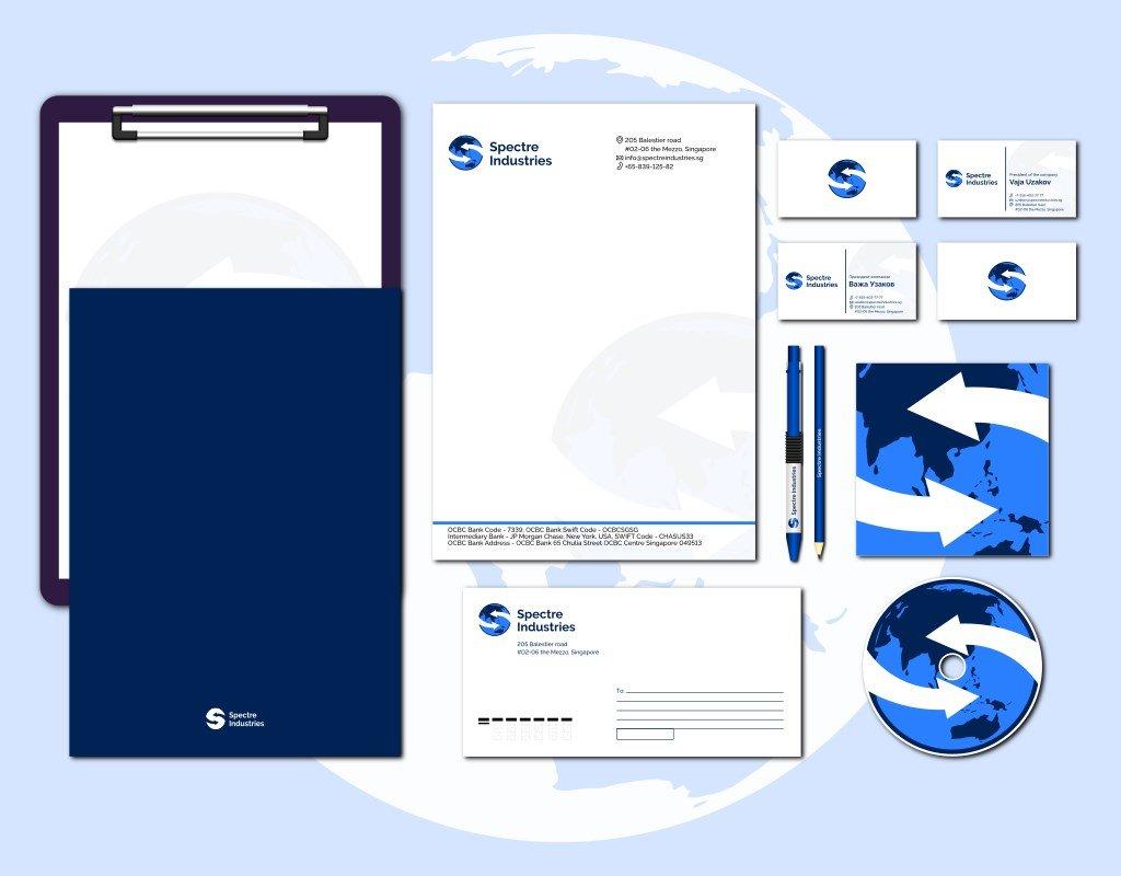 разработка фирменного стиля для международной компании