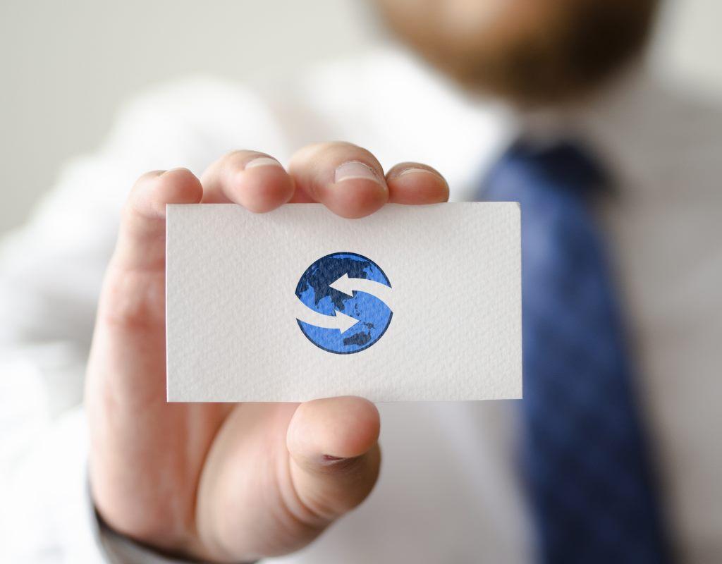 разработка визитки для международной компании
