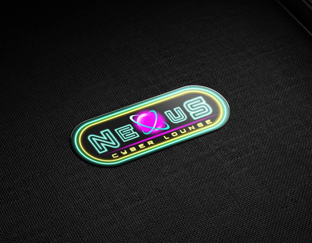 логотип для киберспортивного лаунжа