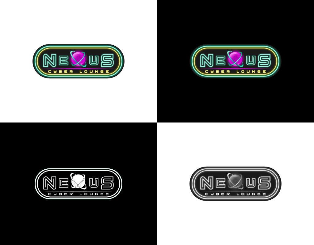 разработка логотипа для киберспортивного лаунжа