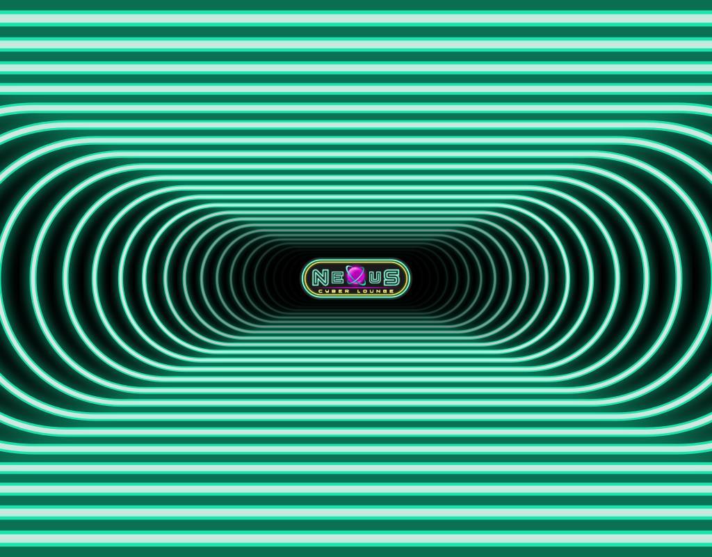 разработка логотипа для Nexus Cyber Lounge