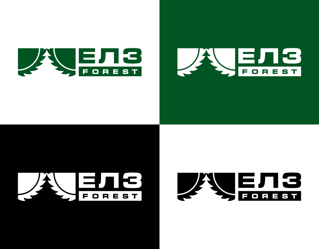 Логотип лесозаготовительной компании