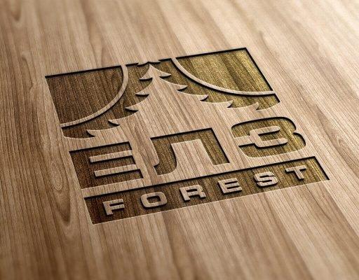 Лого ЕЛЗ Forest на дереве