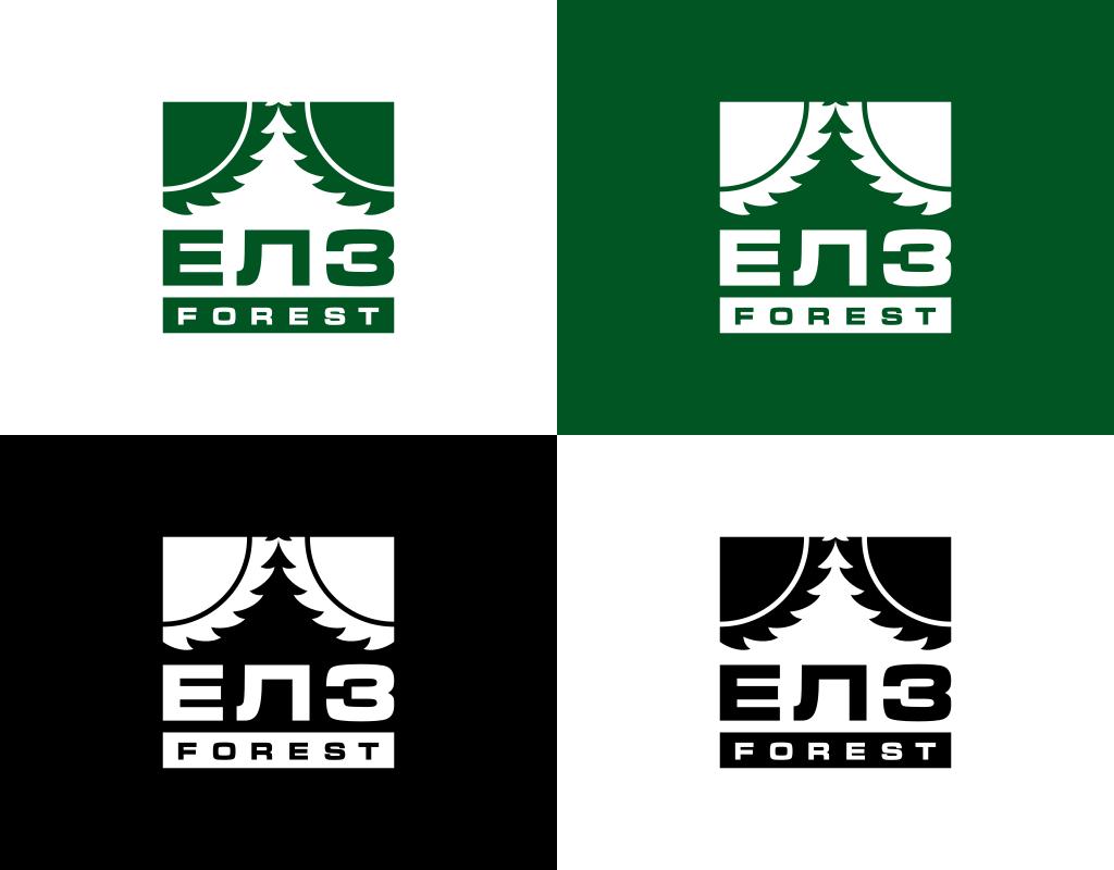 Логотип для лесозаготовительной компании