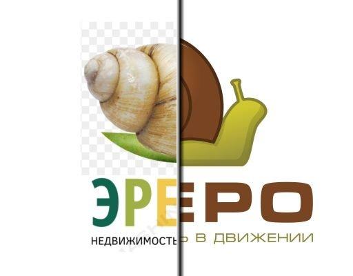 Отрисовка логотипа агентства недвижимости по эскизу