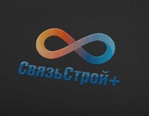 вышивка логотипа телекоммуникационной компании