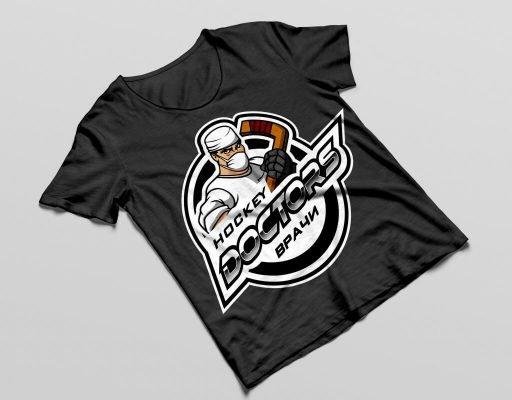 разработка логотипа для хоккейной команды