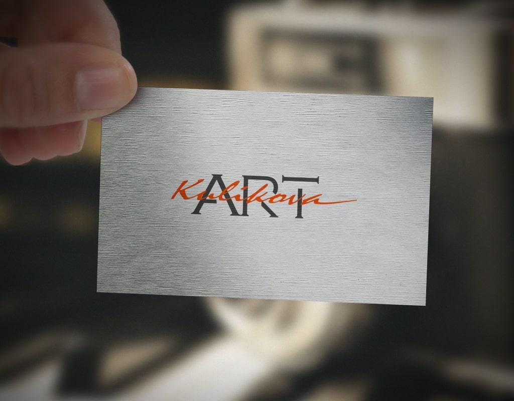 логотип художницы