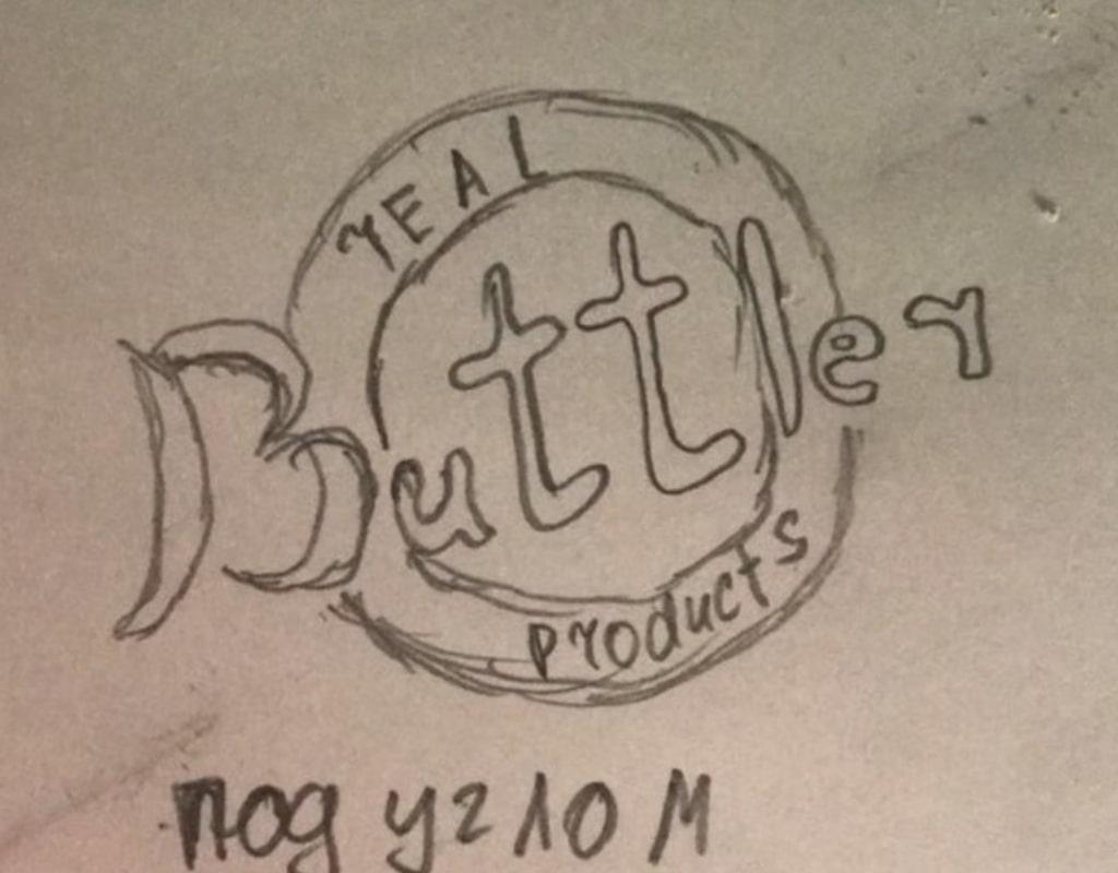 Buttler эскиз логотипа