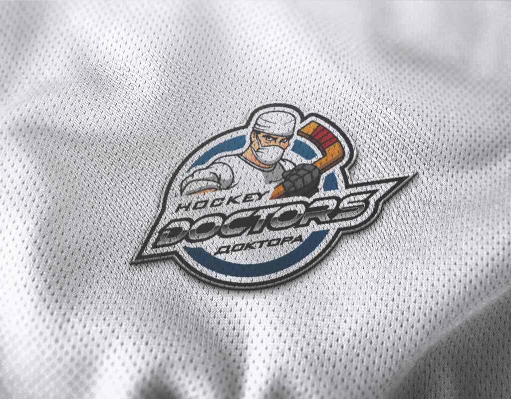 эмблема для хоккейной команды