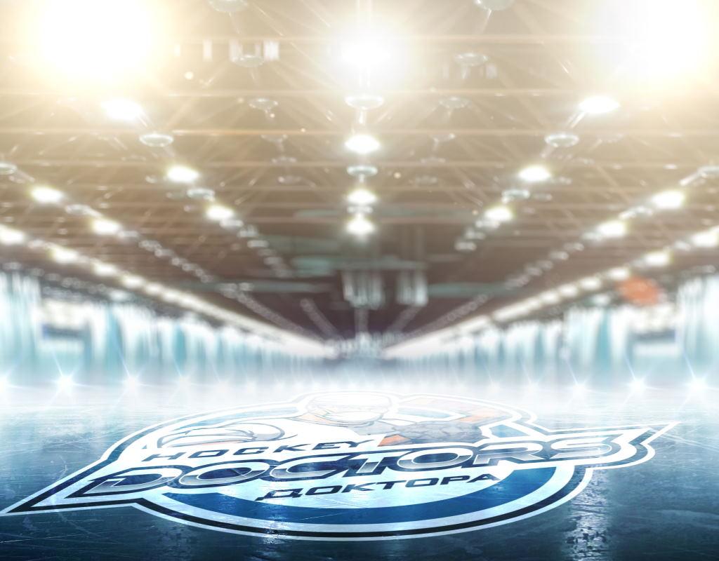 логотип эмблема hockey doctors
