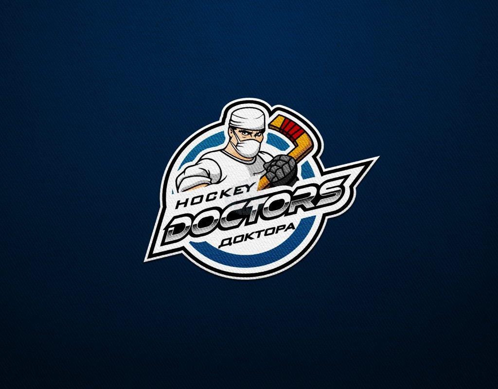разработка эмблемы для хоккейной команды