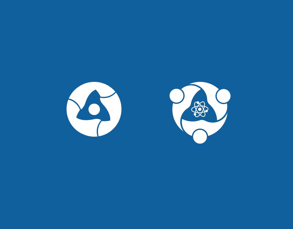 Сравнение логотипа Росатом и КПИ
