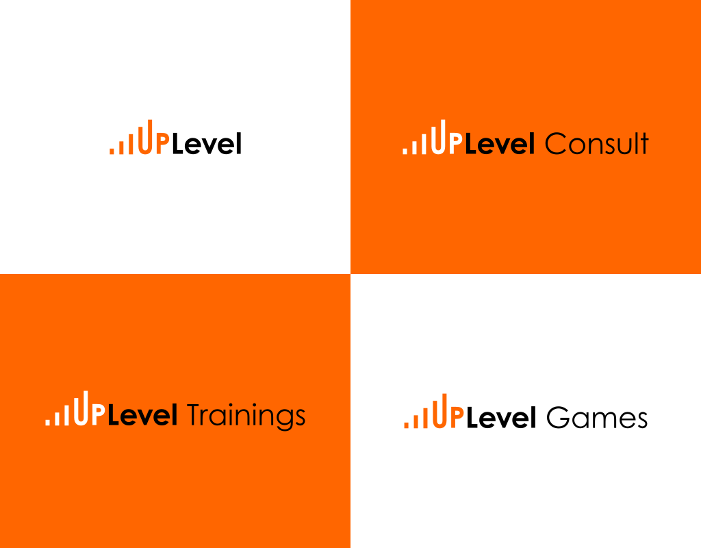 UpLevel логотип тренингового центра