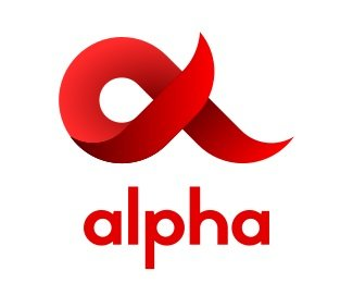 Логотип альфа