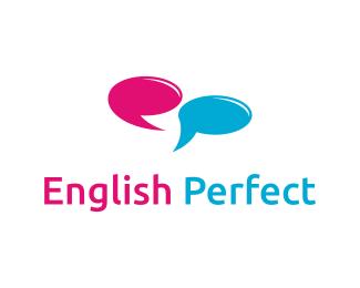 Логотип школа английского