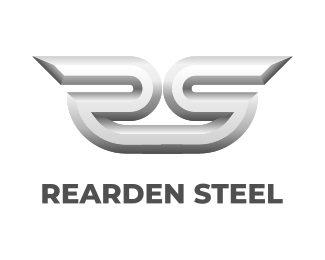 Логотип Сталь Реардена