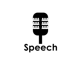 Логотип постановка речи