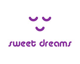 Логотип для постели хостела сна