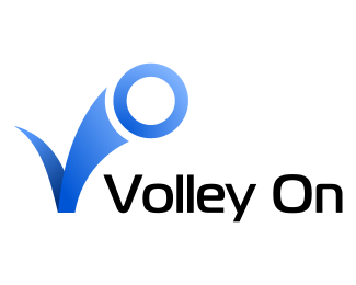 Логотип воллейбол vo