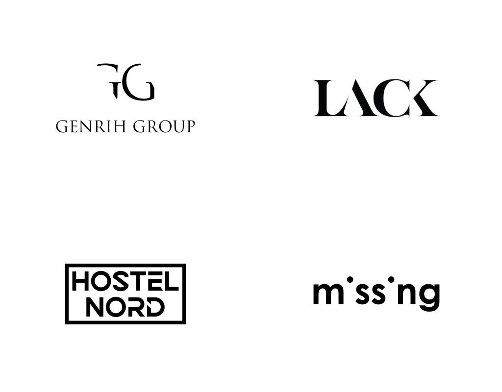 Тренд дизайна логотипов 2020 года - Ничего лишнего