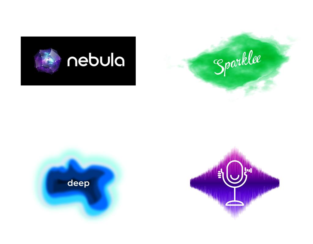 какие логотипы в тренде в 2020 году - размытости