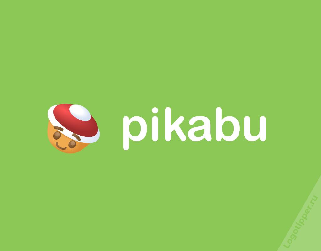 логотип Пикабу к новому году