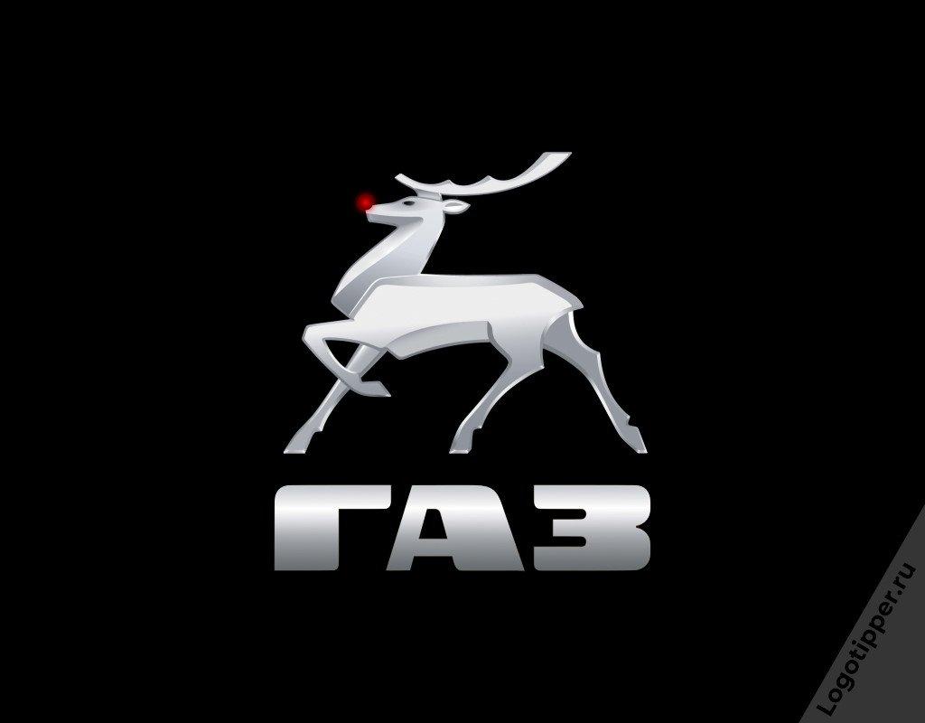 новогодняя версия логотипа ГАЗ