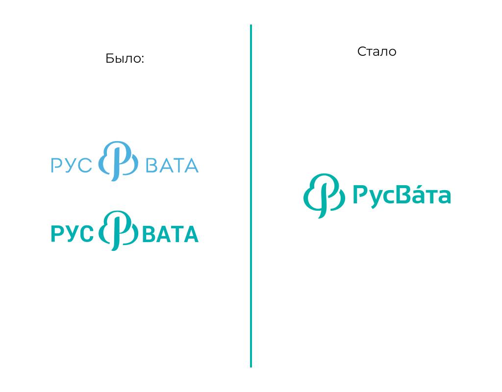 Рестайлинг логотипа русвата