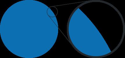 увеличенный логотип в векторе