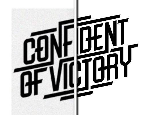 обложка confident of victory