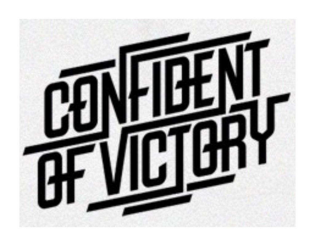 перевод логотипа в вектор confident of victory
