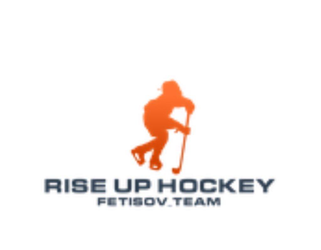 улучшение качества логотипа rise up hockey