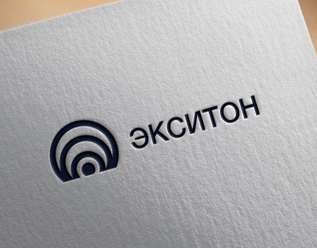 визуализация логотипа экситон