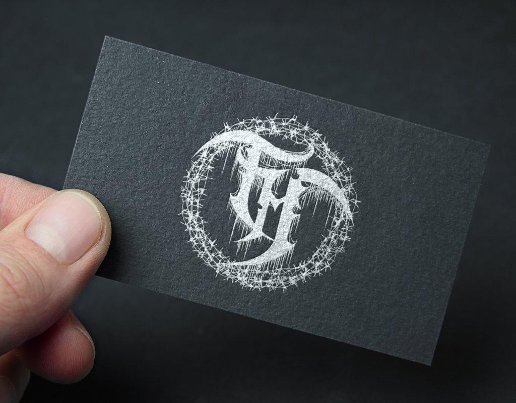 визуализация векторизированного логотипа ТМ