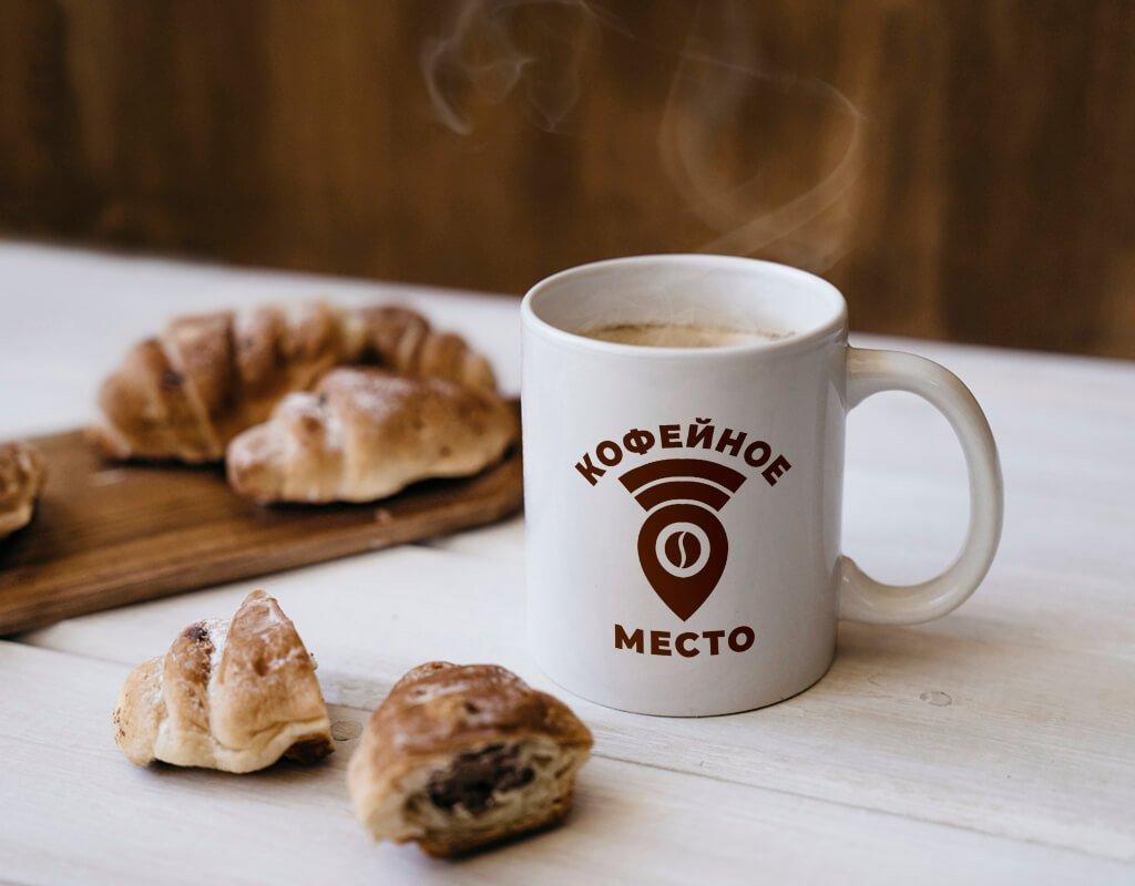 Дизайн фирменного стиля для кофейни