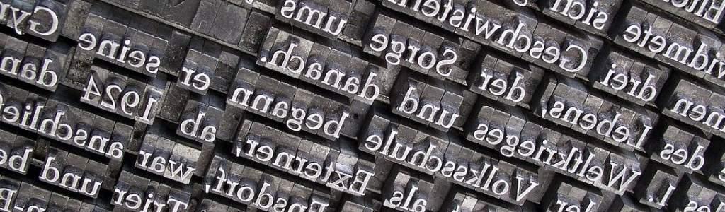 Литеры для печати