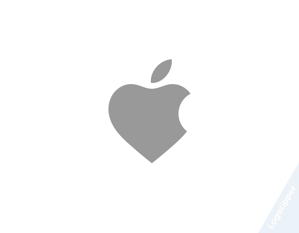 логоти apple ко дню святого валентина