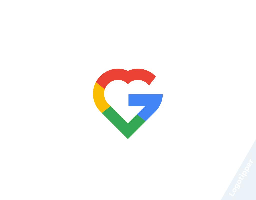 логотип google к 14 февраля