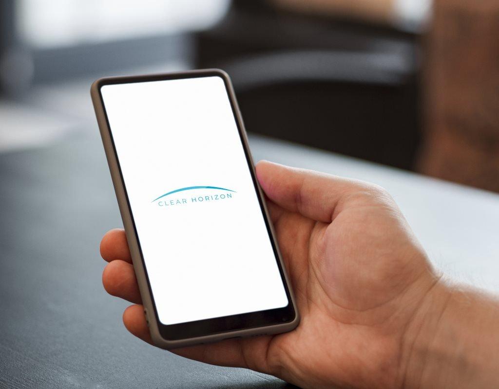 логотип ясный горизонт приложение