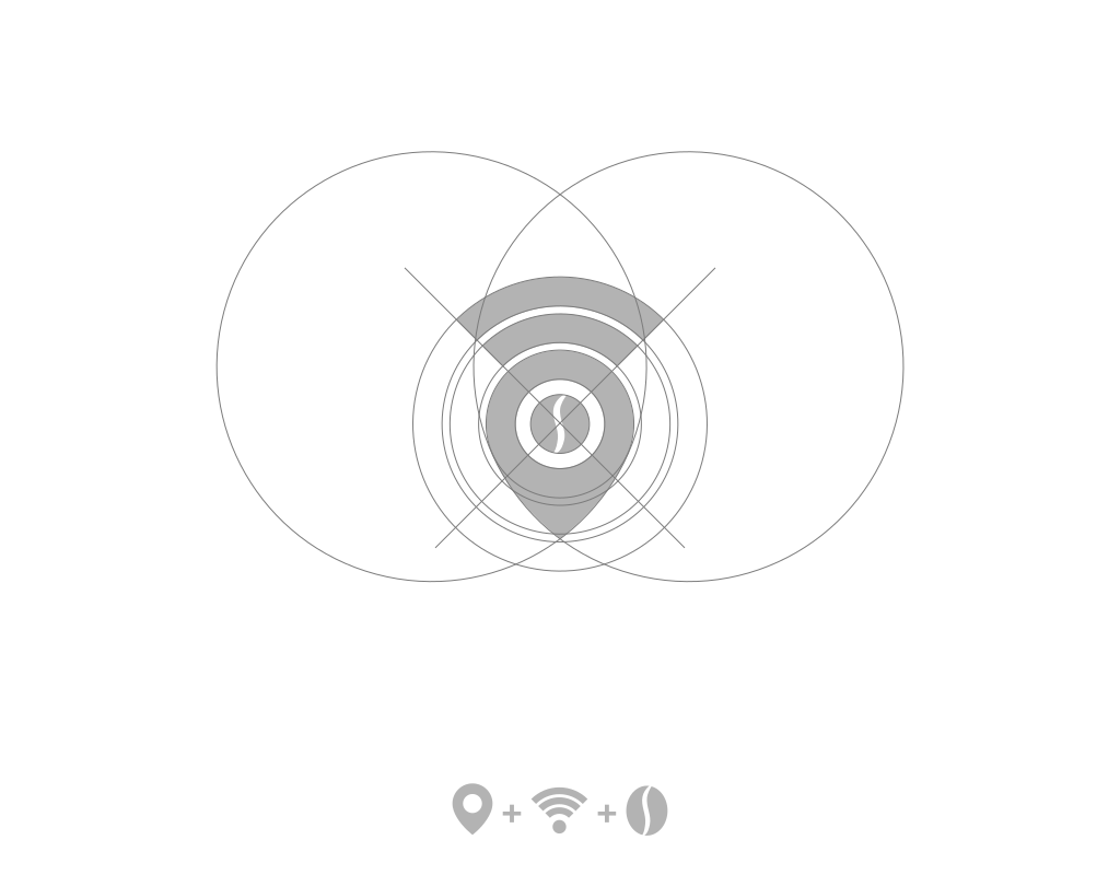 Построение логотипа кофейни