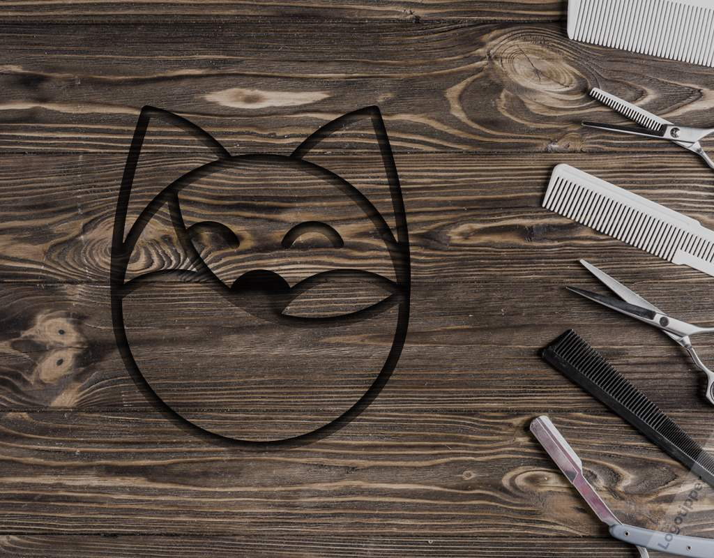 разработка логотипа барбершопа