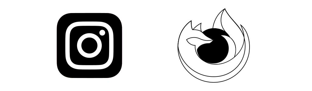 Сделать монохромную версию логотипа