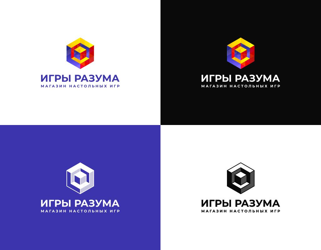 Цвета логотипа магазина настольных игр