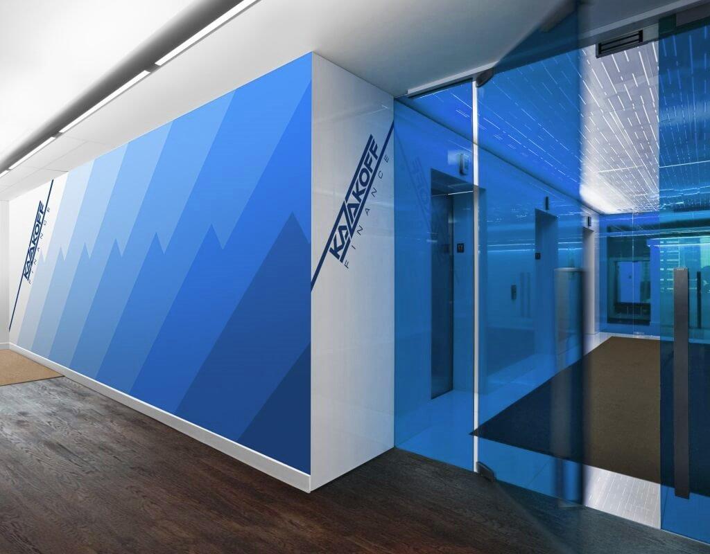 дизайн финансового офиса