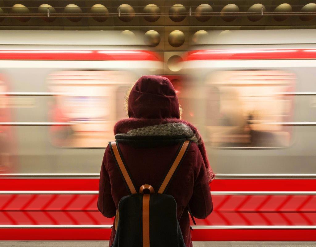 Дизайн поездов в красноярском метро